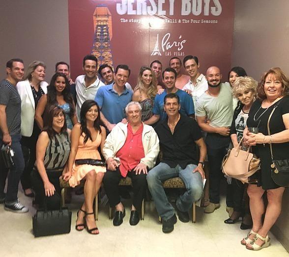 "Original Four Seasons Member Tommy DeVito Attends ""Jersey Boys"" at Paris Las Vegas"