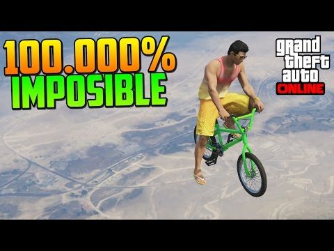 100.000% IMPOSIBLE!! COMO SUBO?! - Gameplay GTA 5 Online Funny Moments (Carrera GTA V PS4) - YouTube