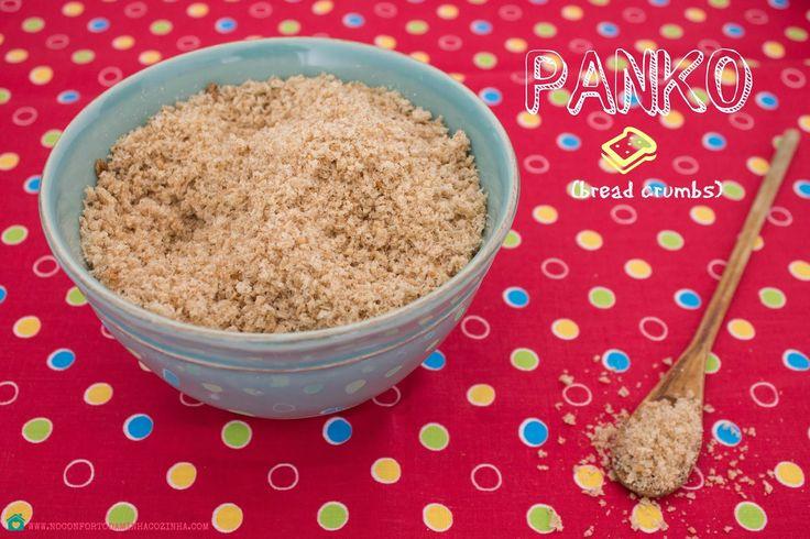 No Conforto da Minha Cozinha...: O que é o Panko? E como fazê-lo em casa!