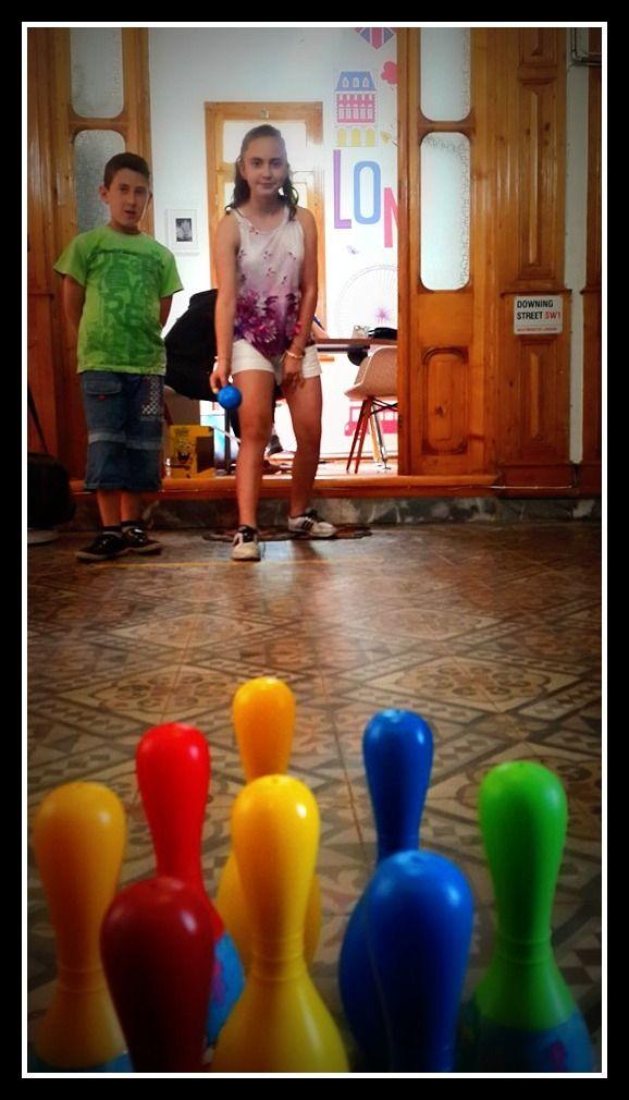 Bowling Day at Cheeky Monkey...#CME4K Sadece çocuklar için İngilizce dil kursu İzmir