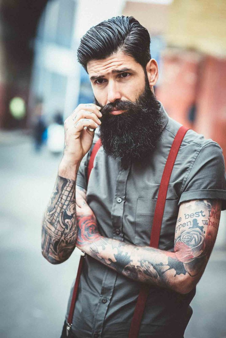 """beardbrand: """"Carlos Costa, shot by Tom Cairns in London, England for Urban Beardsman. Check out the full gallery here. """""""