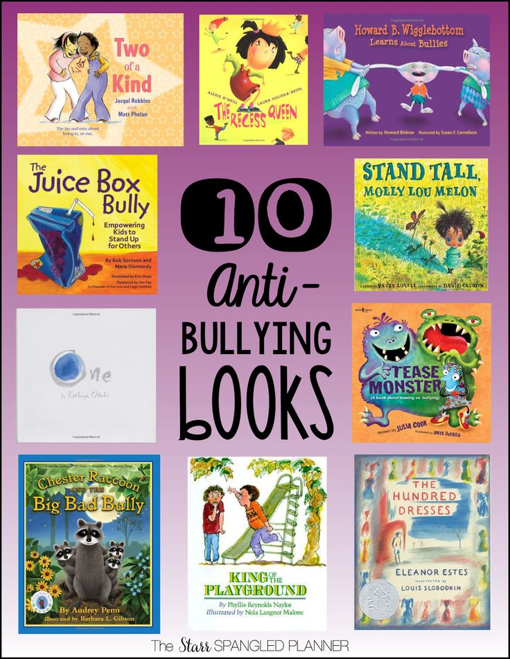10 Anti-Bullying Books + tons of other must-have book lists in this blog post!