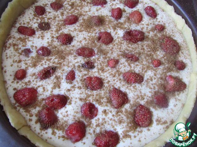 Страсбургский песочный пирог с клубникой ингредиенты