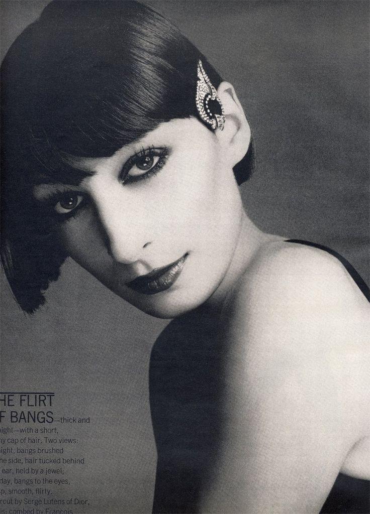 Anjelica Huston, Vintage Vogue | Hot Stuff | Pinterest