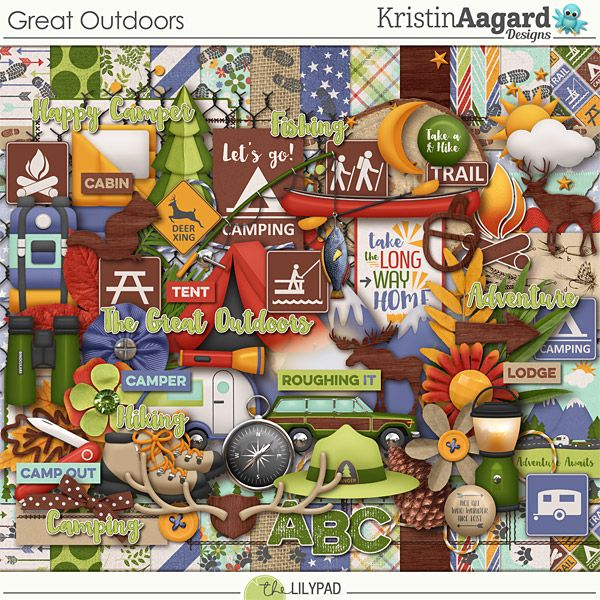 Great Outdoors by Kristin Aagard Designs