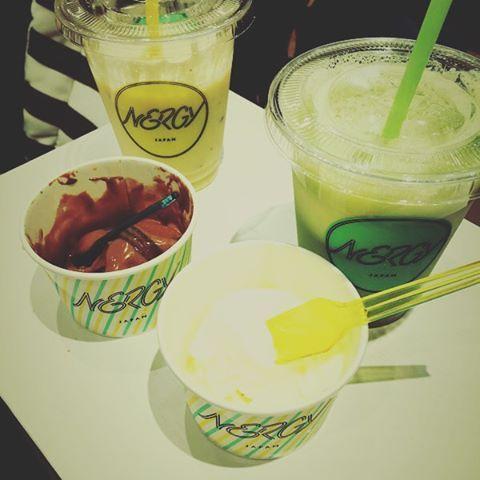 大阪EXPOCITYにてNIKE ✖ JUNブランド『NERGY』グランドオープン 併設のWellness cafe#EXPOCITY#エキスポシティ#NERGY#グルテンフリー#アイス#ナージー#