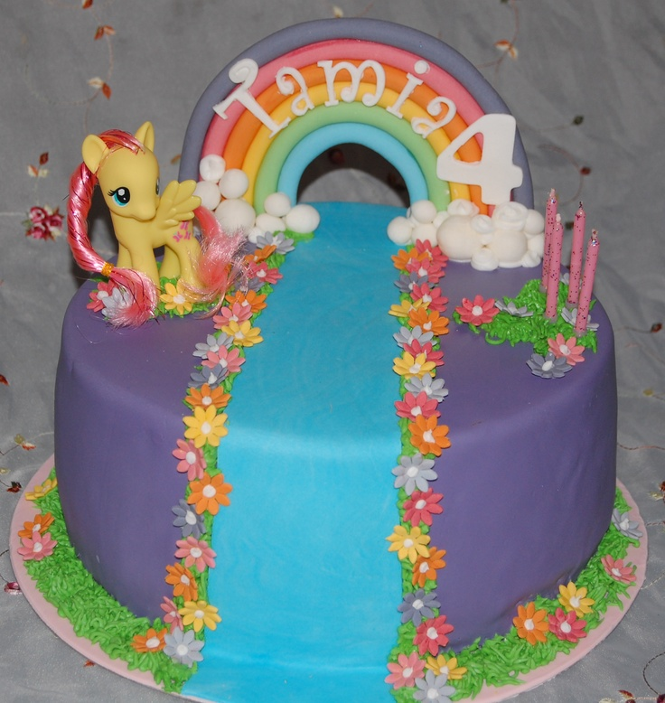 My Little Pony Birthday Cake | ... Prise Liebe: My little Pony Birthday Cake - Kindergeburtstagstorte