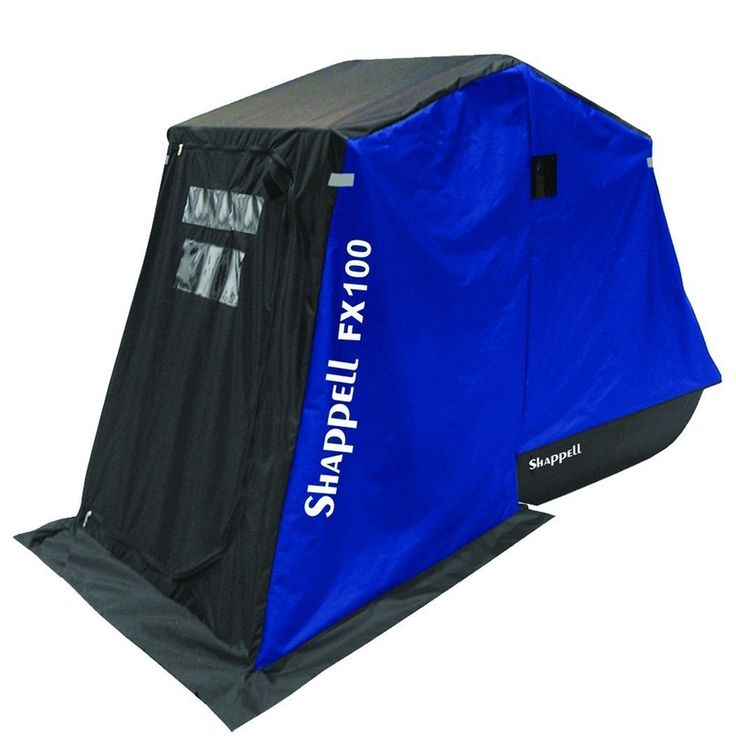 Shappell FX Series Flip Over Style Ice Fishing Shelter Blind Shack Hut Tent Cold in Sporting Goods, Fishing, Fishing Equipment | eBay