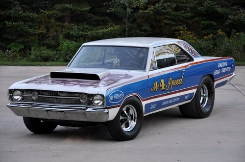 1968 Hemi Dart.... It looked Super Bad when it was new, and it still does today!