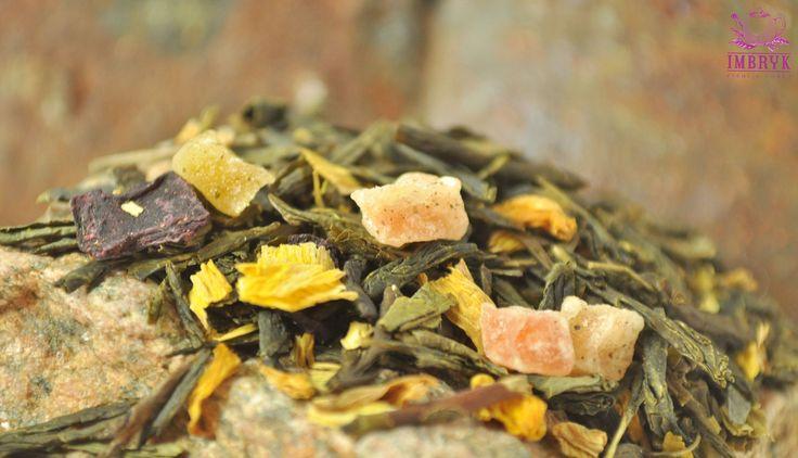 Sencha Japońskie Ogrody to zielona herbata z dodatkiem kwiatu słonecznika, mango, papai, wiśni i plasterków buraka. Filiżanka tej aromatycznej herbaty pozwoli Wam poczuć klimat dalekiej Japonii.  #herbata #tea #zdrowie #fitness #prezent