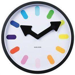 Pictogram Rainbow Clock