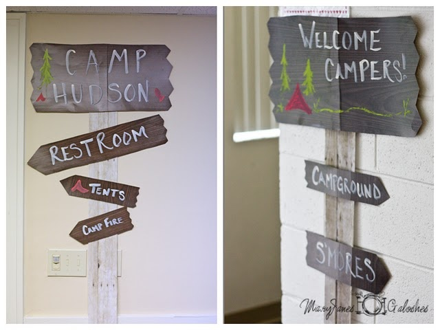 would be super cute in my mom's camping themed classroom.
