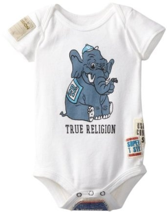 Pola Baju Bayi - True Religion Unisex-Baby Infant Vintage Patchwork Onesie | Pusat Baju Bayi Terbesar dan Terlengkap Se indonesia