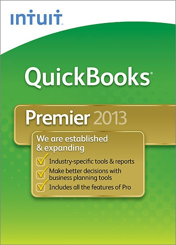 QuickBooks Premier 2013. See our listing in ebay, or call 540-822-4806