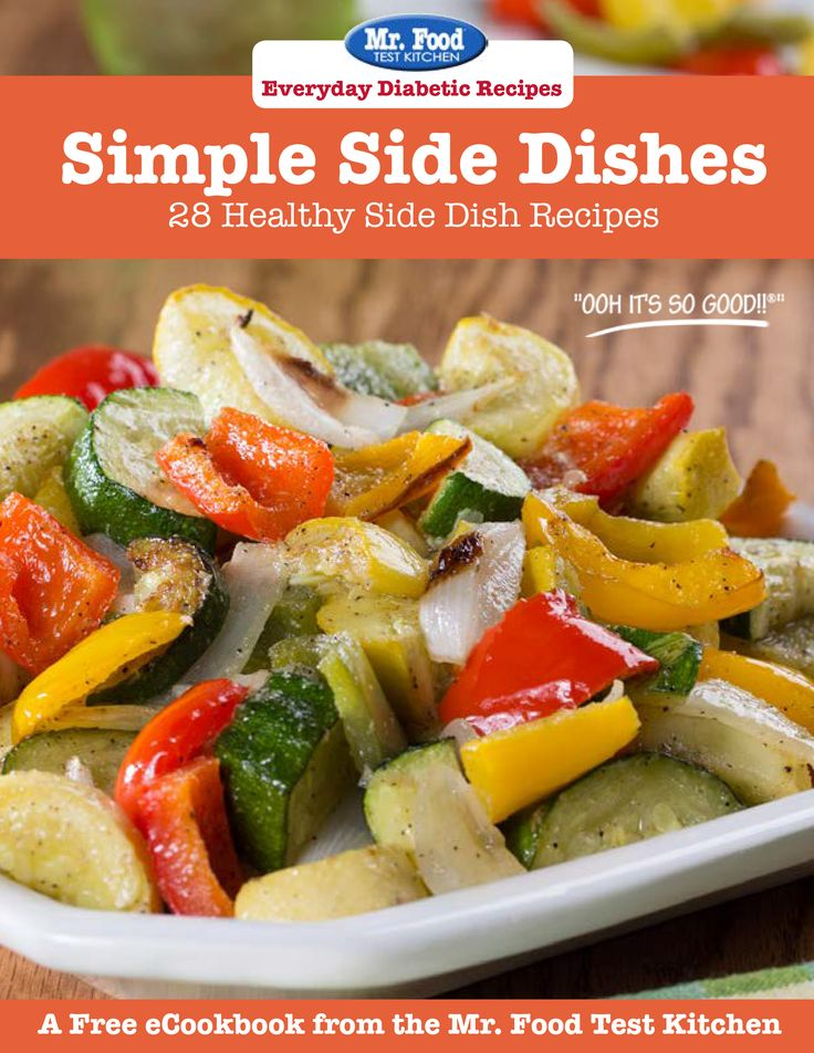9 best free ecookbooks images on pinterest diabetic dinner recipes simple side dishes 28 healthy side dish recipes forumfinder Image collections