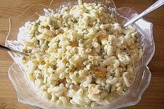 Nudelsalat mit Mandarinen und Eiern (Rezept mit Bild)   Chefkoch.de