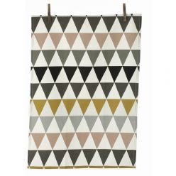 Ferm LIVING Triangle Tea Towel, Multicoloured : Gifts and Accessories from Scandinavia