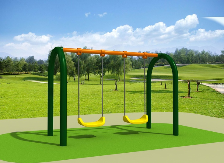 Twin Swing Set - Double trouble at your house, then this is the answer.. 3000 x 1500 x 2100  $667.00.. Visit us at www.playcubb.com.au