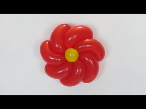 How to make this twisted flower :) Need one and half of 260 balloon, senter, and stem. Good luck :)