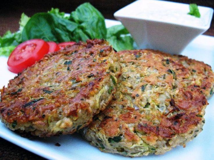 Hamburger di zucchine ricetta