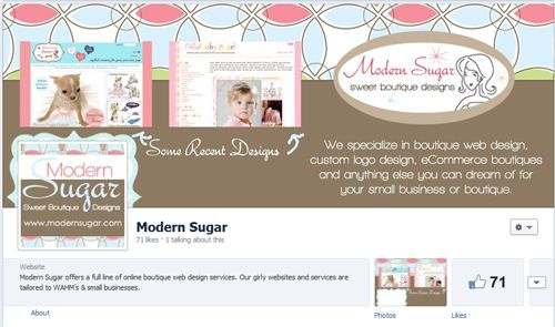 cute kitschy m2m facebook timeline photo