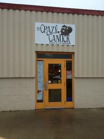 The Crazy Canuck  http://crazycanuck.webs.com/  845 Weber Street North, Waterloo