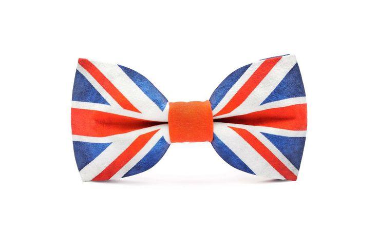 marthu pre tied bow tie UNION JACK m0192