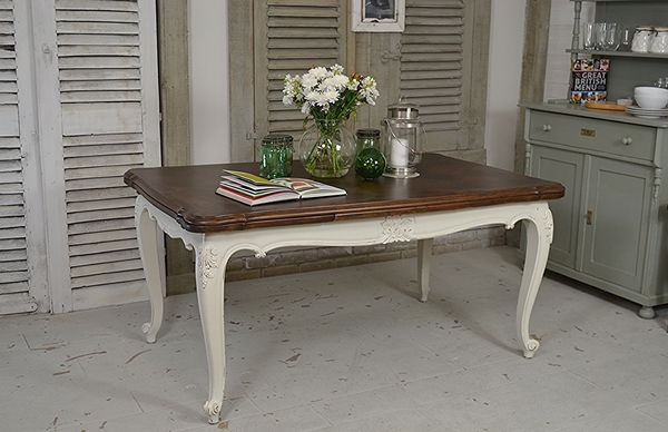 Large French Extending Dining Table   Seats Up To 12 Artwork