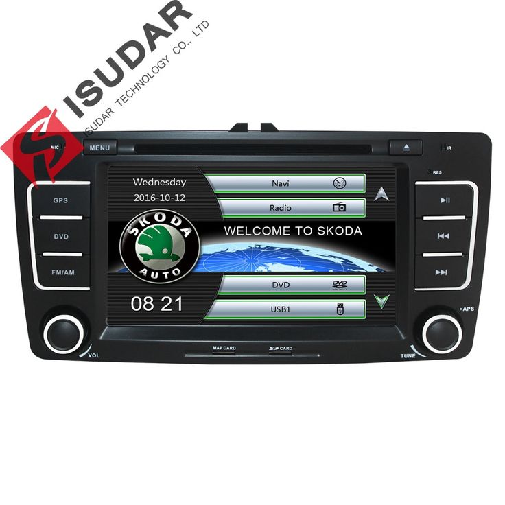 177.90$  Watch here - http://alihz3.worldwells.pw/go.php?t=850791421 - Two Din 7 Inch Car DVD Video Player For SKODA Octavia 2009-2013 CANBUS GPS Navigaiton Bluetooth IPOD Radio RDS WIFI SD Free Maps