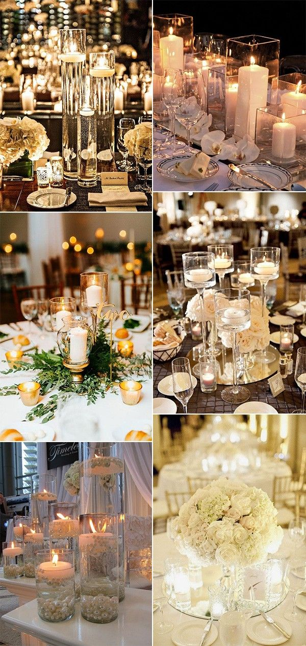 It can be hard to think outside of the box when it comes to wedding centerpieces, and that's OK. Flowers in simple vases will always...