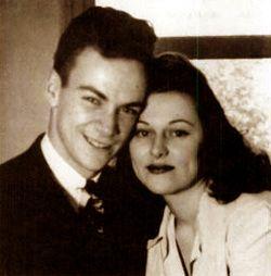 Arline Helen Feynman. Wife of physicist, Richard Feynman. Her death had a lasting impact on Feynman.