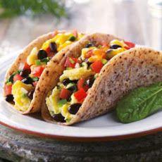 High Fiber #Breakfast Idea: Breakfast #Tacos
