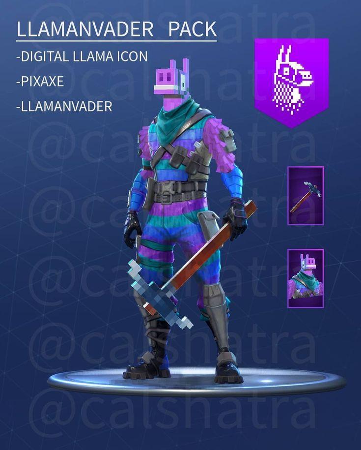 New Llama Skin Fortnite Pin On Fortnite