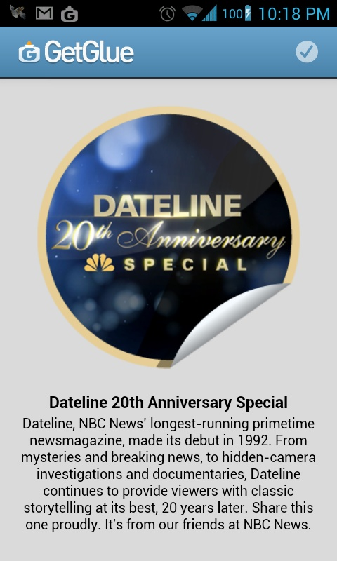 Love @dateline can't believe its 20 years old! Highlights: michael j. Fox, that amazing guy who got his arm caught under a bolder and cut it off to save his life (think the movie 127 hours), and the McCoy septuplets