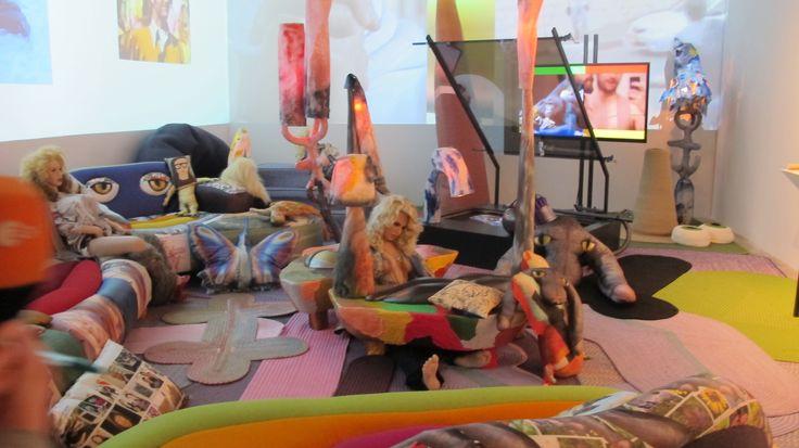 Bjarne Melgaard's installation at the 2014 Whitney Biennial. Photo: Rozalia Jovanovic.