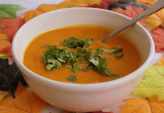 Carrot and Coriander Soup - A Popular Soup In Ireland