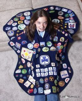 Local Girl Guide marks major achievement