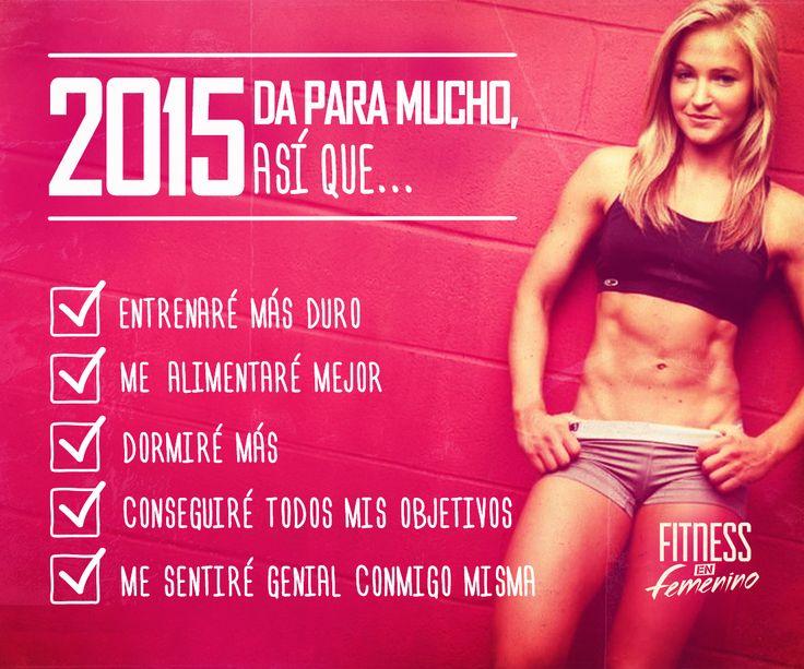 ¿Cómo van tus objetivos de 2015? Fitness en femenino.