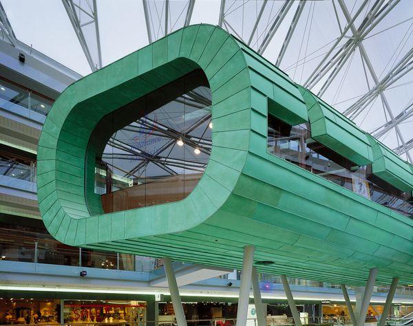TECU® Patina, Amsterdam Villa Arena, NL