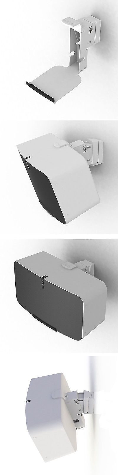 Speaker Mounts and Stands: Flexson Wall Mount For Sonos Play:5 - Gen. 2 (White) -> BUY IT NOW ONLY: $99.99 on eBay!