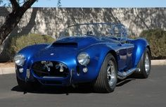 Shelby Cobra SuperSnake! In 1966 Shelby only built two SuperSnakes and he kept one for himself!