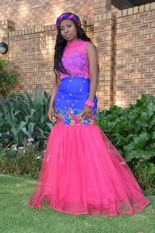 south african traditional wedding dress