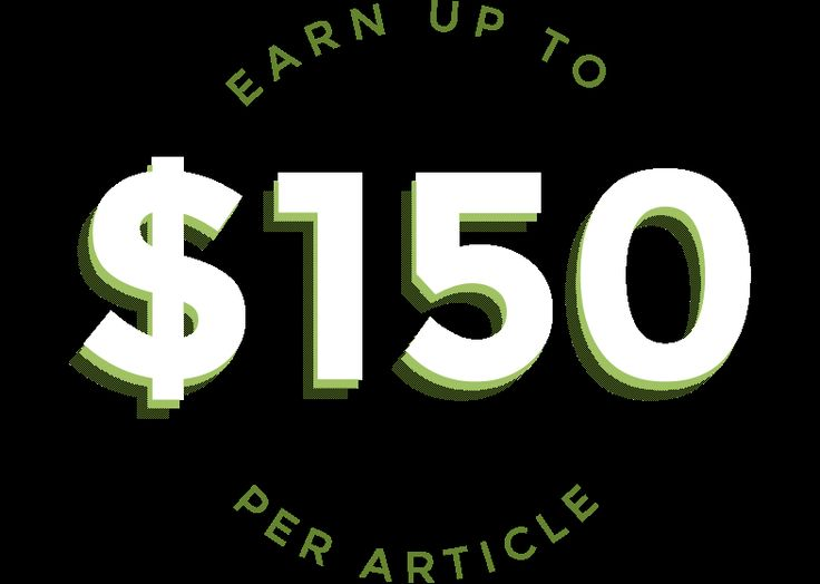 Earn up to $150 per article