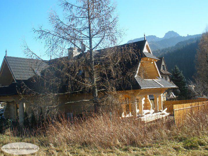 4 maja 2011 - domek góralski, wiosna w górach
