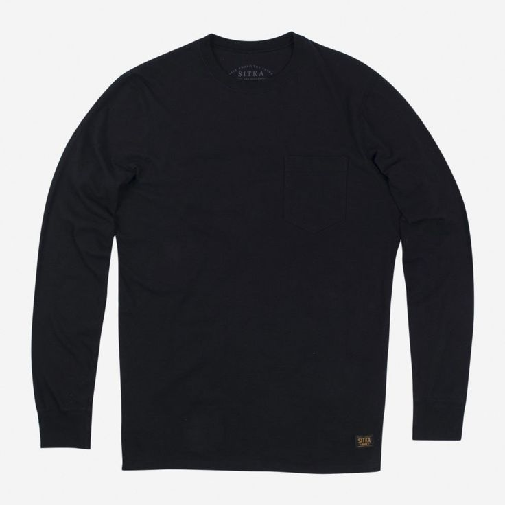 Organic L/S Pocket T-shirt