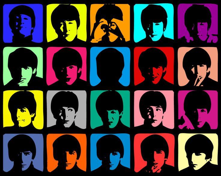 Beatles Super Pop: Album Covers, The Beatles, Pop Art, Canvas Art, Art Prints, Desktop Backgrounds, Hard Day, Beatles Mania, Rocks Art