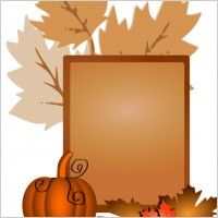 free clip art | Free fall clip art border Free vector for free download (about 12 ...