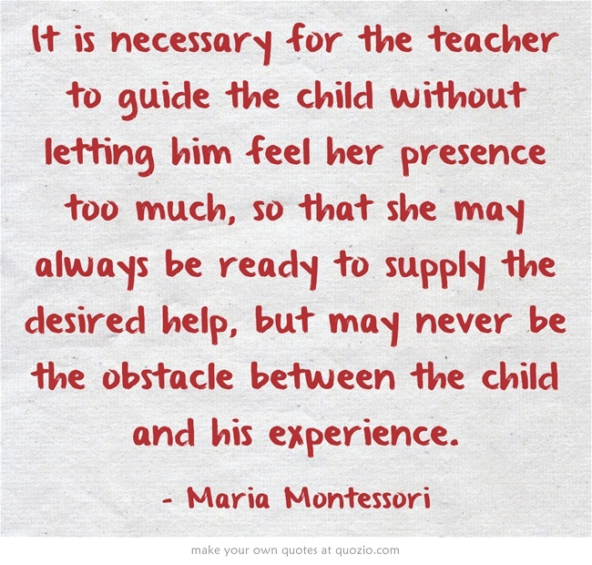Maria Montessori Quotes: 17 Best Images About Montessori Quotes On Pinterest