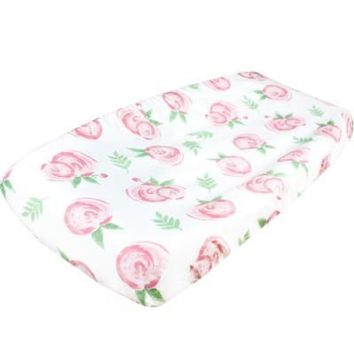 Diaper Changing Pad Cover - Grace by Copper Pearl