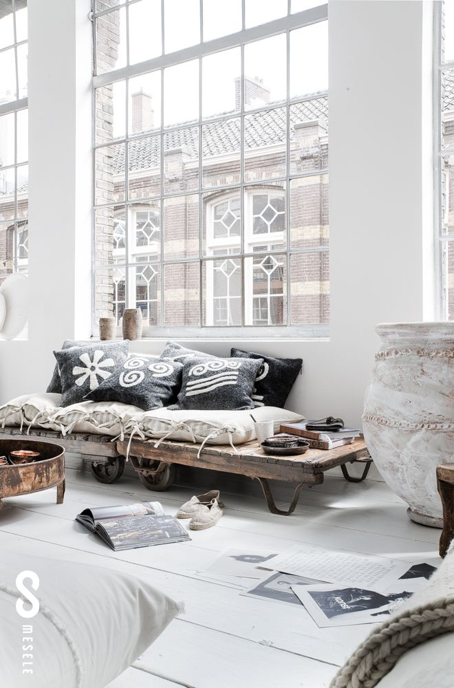 Why not to get Scandinavian style to you home? Use fur, light colors, and lots of wood. See more Scandinavian Home Design Ideas at www.homedesignideas.eu